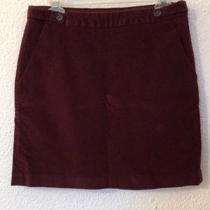 Velvet Banana Republic Skirt